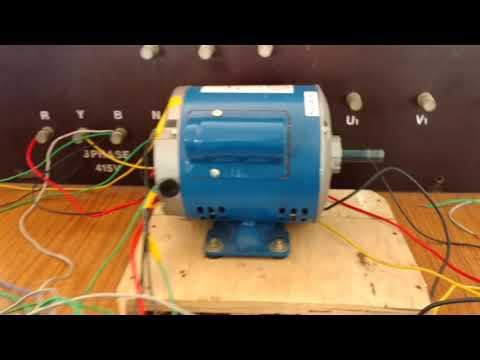 Operation of Induction motor using Plc