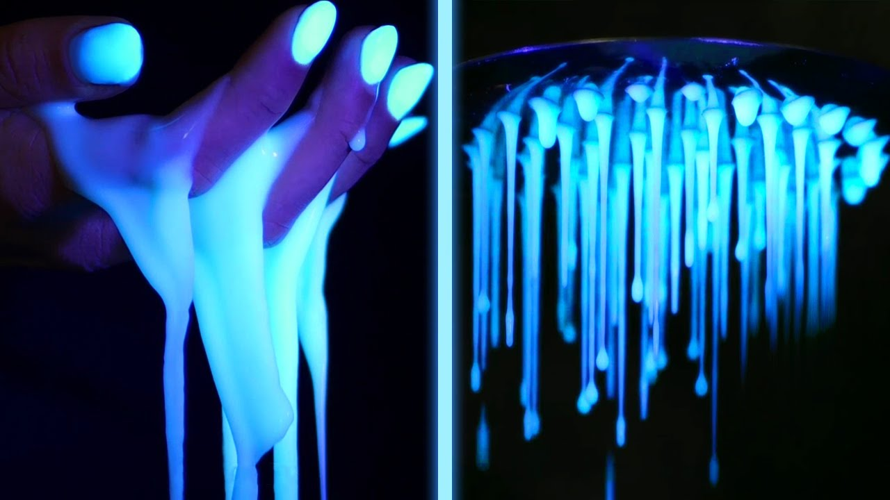 Cool GLOWING Ideas And DIY Experiments You Can Make At Home