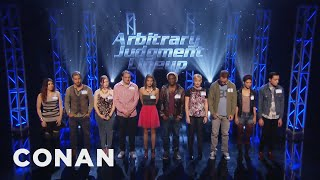 Download New TBS Pilot: Arbitrary Judgment Lineup - CONAN on TBS Video