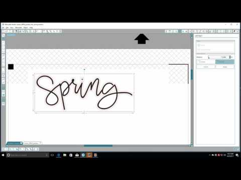 By Request | How to Cut Word Art Using the Silhouette!!!!