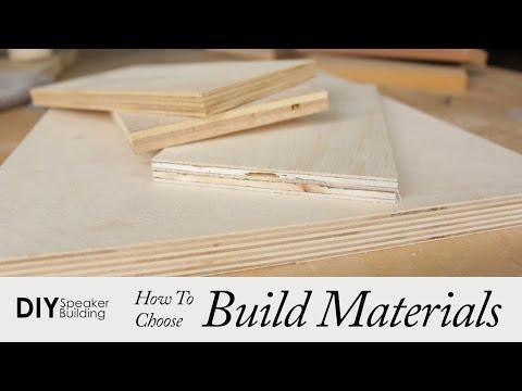 How To Choose Speaker Building Materials   DIY Speaker Building