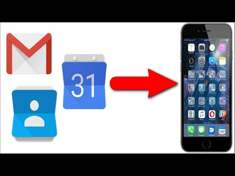 How to Add Your Gmail, Contacts, and Google Calendar to Your iPhone or iPad