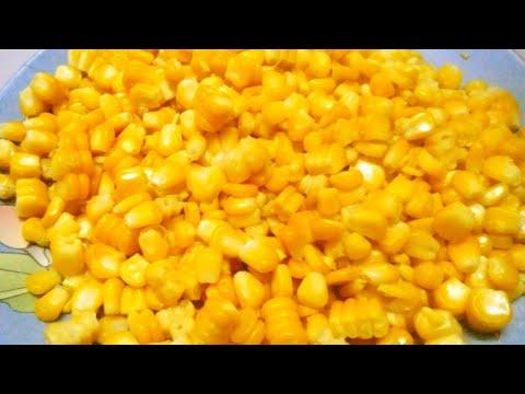how to boil corn in pressure cooker||boiled sweet corn kernels