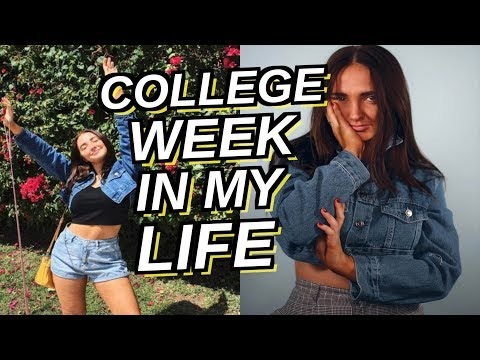 college week in my life   new tattoo and shooting with youtube