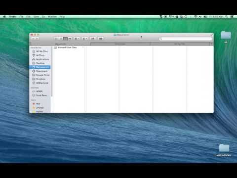 How to Open Multiple Tabs in the Finder Window OS X Mavericks in 30 seconds