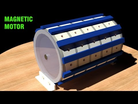 Free Energy Generator, Magnetic Motor, Pulsed system!!!!!!