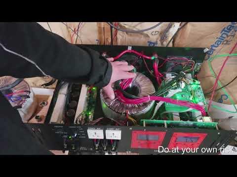 Power Jack 15KW inverter Cooling mod