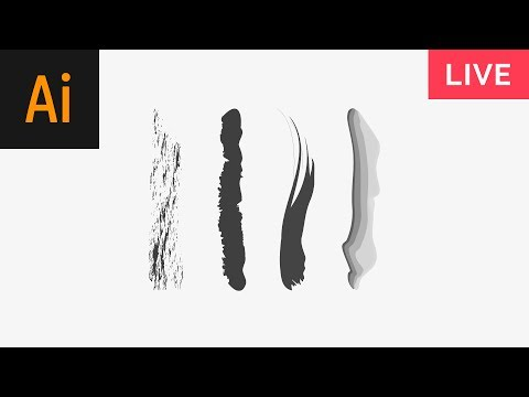 Drawing with Brushes Illustrator Tutorial