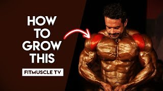 5 Quick Tips For Muscular Shoulders | FitMuscle TV