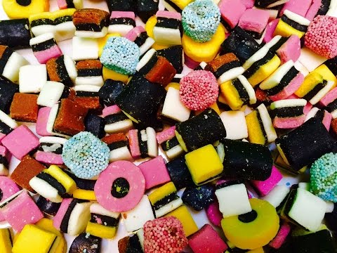 Licorice All Sorts Rainbow Candy Counting