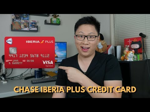 NEW Chase Iberia Plus Card First Impressions