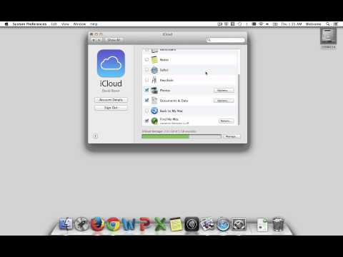Enable Find My Mac on a Laptop using iCloud System Preferences