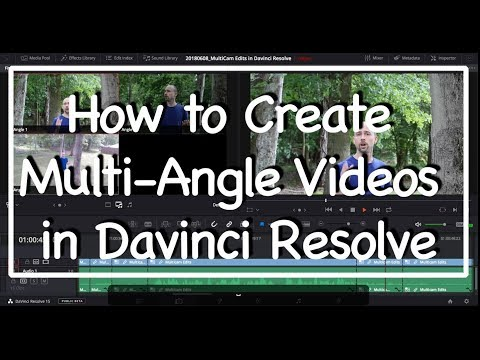 MULTICAM Edits In Davinci Resolve - How To Make Quick and Easy Multiple Angle Videos