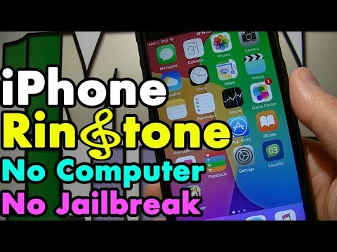 How to custom ringtone on Iphone [no jailbreak no computer]