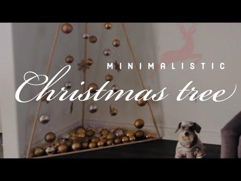 DIY  CHRISTMAS TREE - Arbol de navidad - Modern christmas tree - arbol de navidad moderno