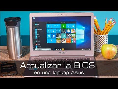 Actualizar una Bios en Laptop ASUS con WinFlash o Asus Bios Utility