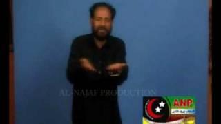 Lal Hussain Haideri: Imran (as) Dae Chan Da Matam Hae Kainaat Dae Wich Barpa