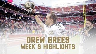 Drew Brees Goes For 323 Yards 3 Tds Saints Vs 49ers Nfl Week 9 Player