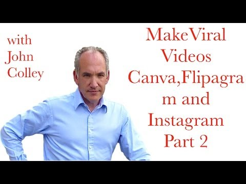 How to Create Viral Videos in Canva, Flipagram & Instagram Part 2