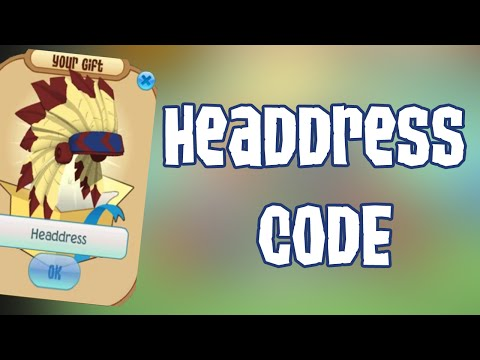 HOW TO GET A HEADDRESS ON ANIMAL JAM CODE JANUARY 2016