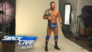 Behind the scenes of Roode's first U.S. Champion photoshoot: SmackDown LIVE Fallout, Jan. 16, 2018