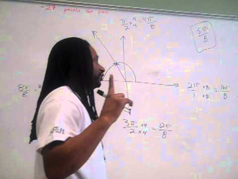 Reference Angles in radians