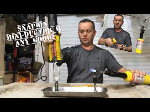 SNAP-ON Mini Ductor 2 (Induction Heater) Review, Heat those tight nuts, same as MAC SYKES PICKAVANT