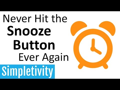 How to Stop Hitting the Snooze Button Ever Again