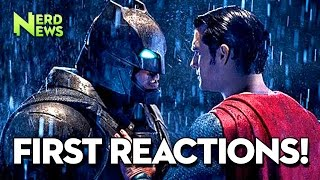Batman V Superman -  Early Reviews Are In!