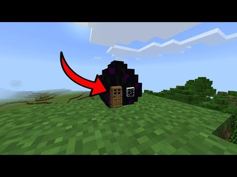 How to Live Inside a ENDER DRAGON EGG in Minecraft (PE, PS4/3, Xbox, Switch)