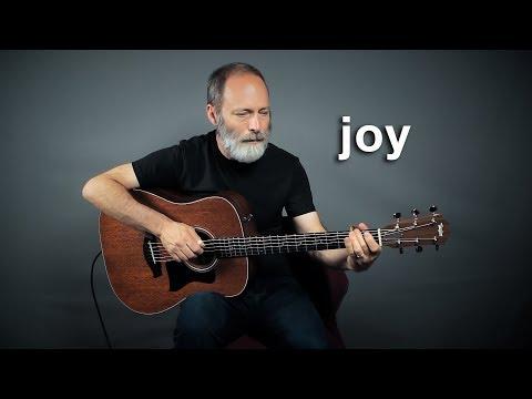 Acoustic Ambient Baritone Guitar of Joy!