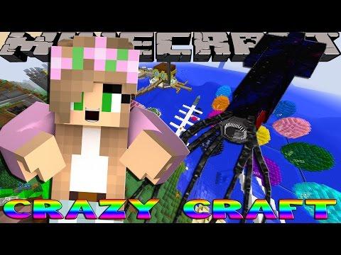 Minecraft CRAZY CRAFT - GETTING BIG BERTHAT SUPPLIES w/Little Kelly!