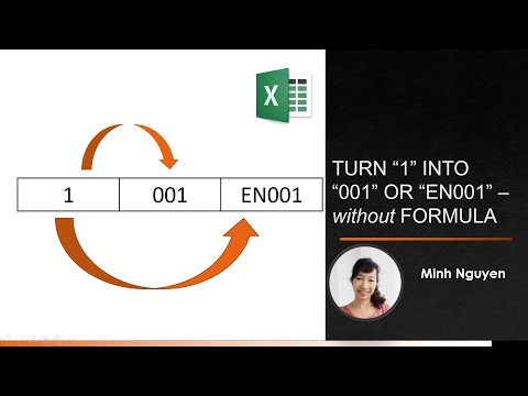 Excel Format Numbers: How to turn
