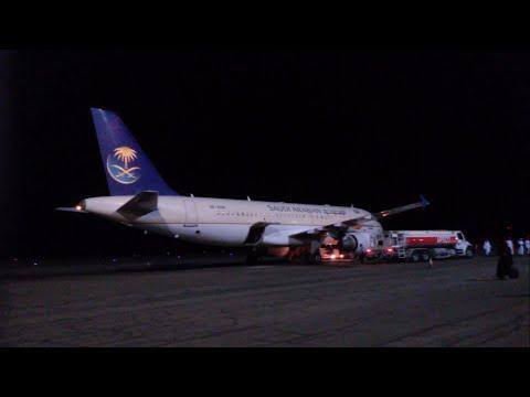 Saudi Airlines Domestic Flight Review: Airbus A320 Riyadh to Al Baha SV1703 Economy Class