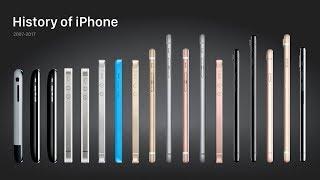History of the Apple iPhone 2007-2017   TECHMANIA