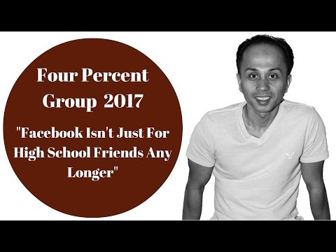 Four Percent | 4% Group: Facebook Isn't Just For High School Friends Any Longer