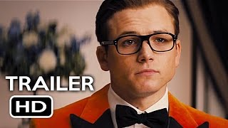 Kingsman 2: The Golden Circle Official Trailer #1 (2017) Taron Egerton Action Movie HD