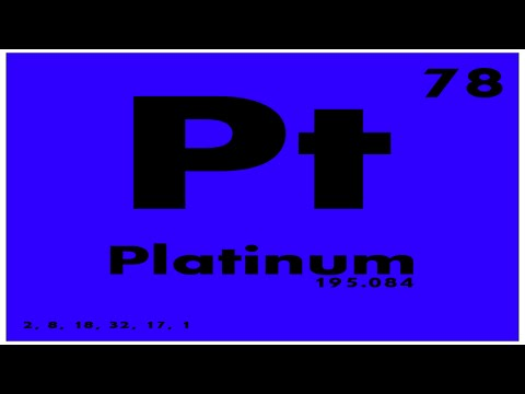 STUDY GUIDE: 78 Platinum | Periodic Table of Elements
