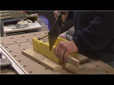 Home Improvement Projects : How to Cut Angles With a Miter Saw