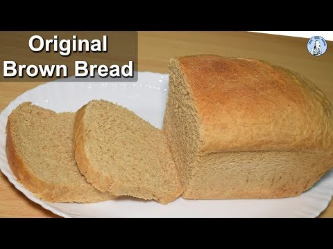 Perfect Brown Bread (Without Oven) | Easy Whole Wheat Bread Recipe | Diet With Amna