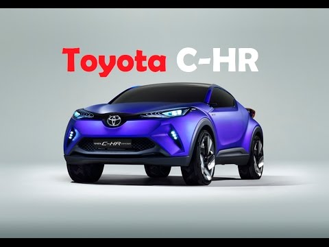 Toyota C-HR, this concept cars will public outing at next month's 2014 Paris auto show