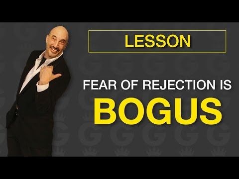 Fear of Rejection is Bogus! | Jeffrey Gitomer | Sales Tools