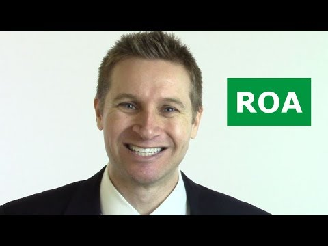 The MOST Important Accounting Ratio (ROA)
