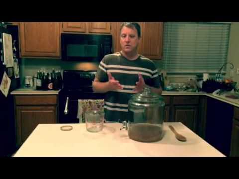 Making water kefir