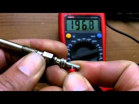 Easy and Complete Glow Plug Test