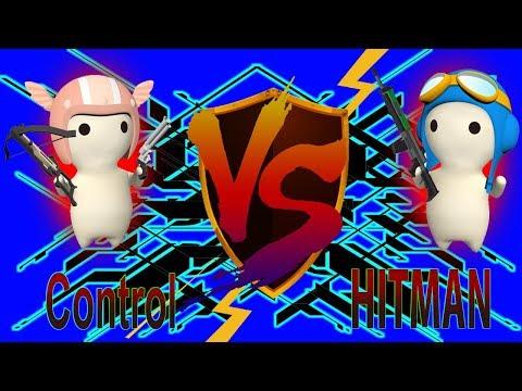 HITMAN VS Control - Kill The Devil [MilkChoco Clan Battle]