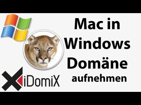 Mac in Windows Domäne aufnehmen, Active Directory, Open Directory, Mac OS X Server
