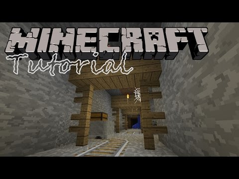 Minecraft 1.8 Tutorial :: How to Find an Abandoned Mine Shaft