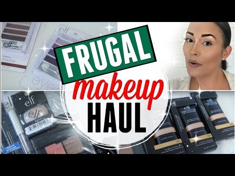 INTENTIONAL MAKEUP HAUL 2018 ● FRUGAL MAKEUP COLLECTION ● SAVE MONEY ON MAKEUP ●  DRUGSTORE HAUL