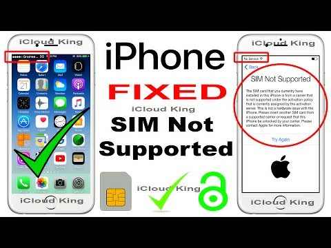 SIM Not Supported iPhone 7,6s Plus,6s,6,5s,5c,5,SE,4s,4 ANY Network Unlock 2017